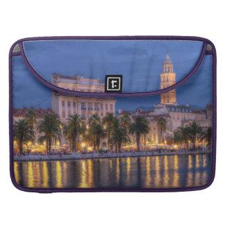 Riva waterfront, Split, Croatia Sleeve For MacBook Pro