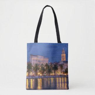 Riva waterfront, Split, Croatia Tote Bag