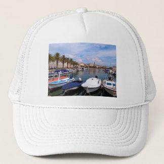 Riva waterfront, Split, Croatia Trucker Hat