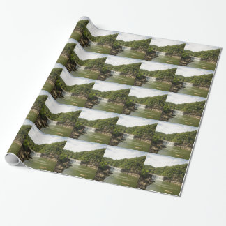 River 1 wrapping paper