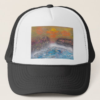 River above the falls trucker hat