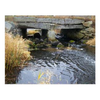 River and Stone Bridge Postcard