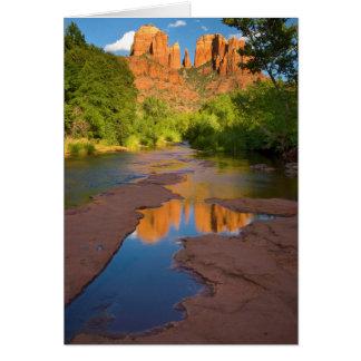 River at Red Rock Crossing, Arizona Card