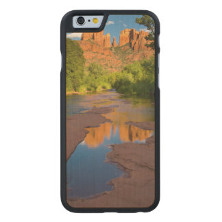 River at Red Rock Crossing, Arizona Carved Maple iPhone 6 Case