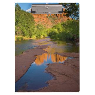 River at Red Rock Crossing, Arizona Clipboard