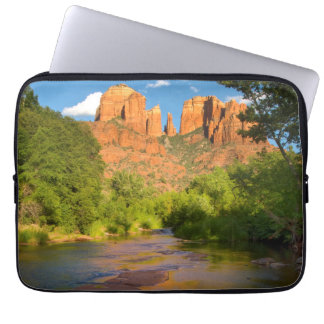 River at Red Rock Crossing, Arizona Laptop Sleeve