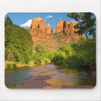 River at Red Rock Crossing, Arizona Mouse Pad