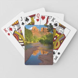River at Red Rock Crossing, Arizona Poker Deck