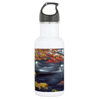River Autumn Colors A Rushing 532 Ml Water Bottle