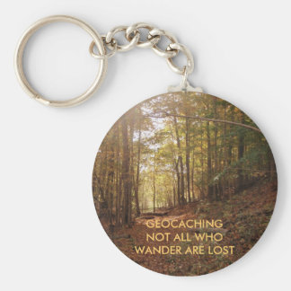 River Bend 2, GEOCACHINGNOT ALL WHO WANDER ARE ... Basic Round Button Key Ring