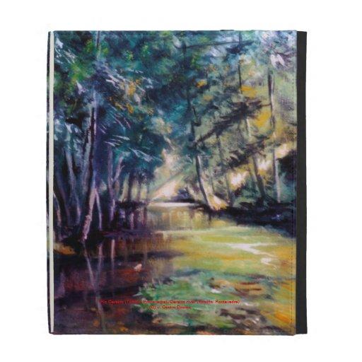 River Cereixo (Tomiño. Pontevedra) iPad Folio Case