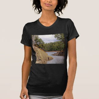River Channel Temperate Rain Forest Canada Shirt