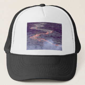 river churn of lava trucker hat