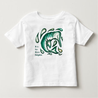 River Dolphin Artwork Baby and Kids' clothing Toddler T-Shirt