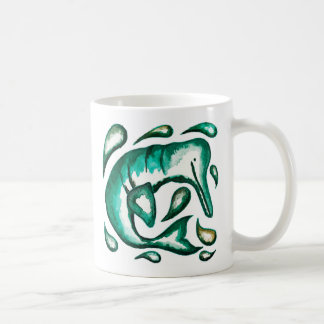 River Dolphin Original Artwork Mug