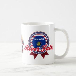 River Falls, WI Coffee Mugs