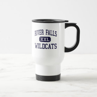 River Falls - Wildcats - High - River Falls Coffee Mugs