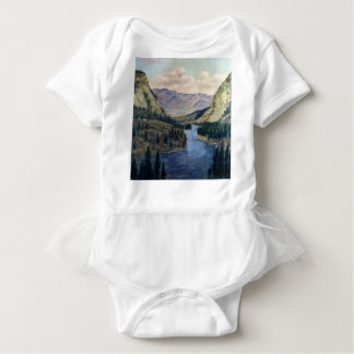 River Flows On Baby Bodysuit