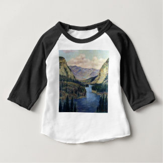 """River Flows On"" Baby T-Shirt"