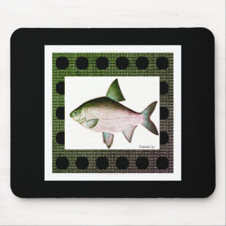 River-Green-Nature-Fish_Mod-Unisex Mouse Pad