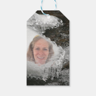 River Icicles Photo Frame Gift Tags