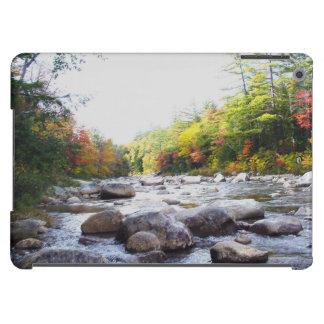 river in autumn iPad air cover