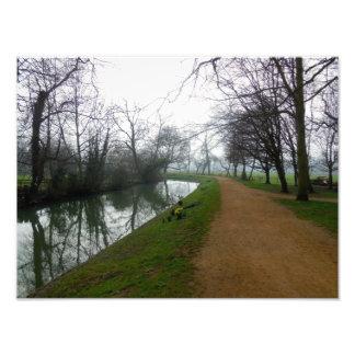 River in Oxford Photo Print