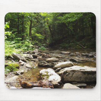 River in the Wood Mouse Pad