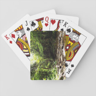 River in the Wood Poker Deck