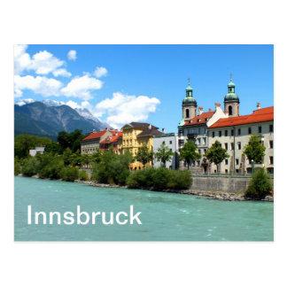 River Inn at Innsbruck Postcard