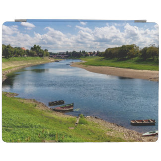 River Kupa in Sisak, Croatia iPad Cover