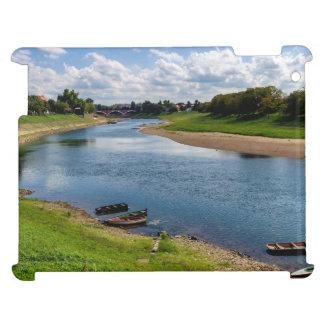River Kupa in Sisak, Croatia iPad Cover