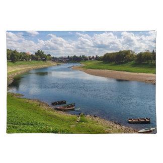 River Kupa in Sisak, Croatia Placemat