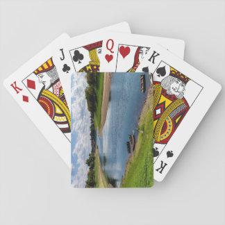 River Kupa in Sisak, Croatia Playing Cards