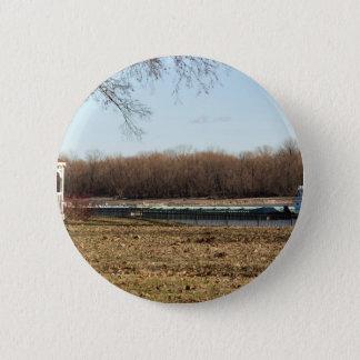 River Life 6 Cm Round Badge