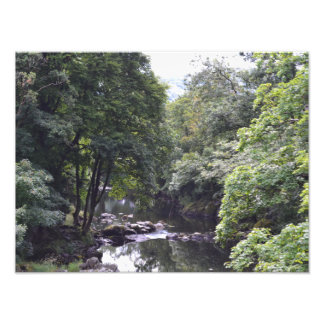 River Llugwy at Betws-y-Coed, Wales Print Photographic Print
