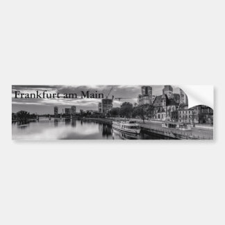 River Main in Frankfurt am Main Bumper Sticker
