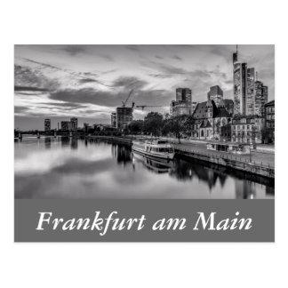 River Main in Frankfurt am Main Postcard