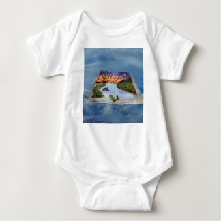 River Murray, Page In A Book, Baby Bodysuit