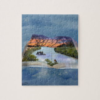 River Murray, Page In A Book, Jigsaw Puzzle