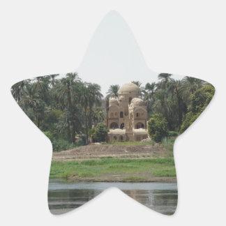 River Nile Scene Star Sticker