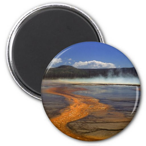 River of Fire Refrigerator Magnets