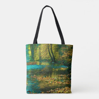 River of Serenity tote