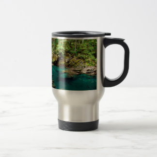 River Ohanapecosh Mt Rainier Travel Mug