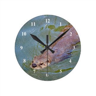 River Otter Clock
