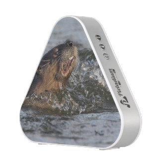 River Otter Eating a Fish Speaker