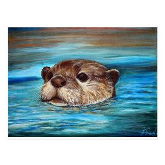 River Otter Postcard