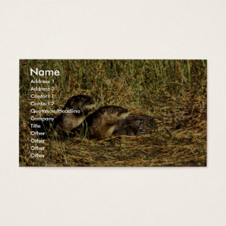 River Otters Business Card