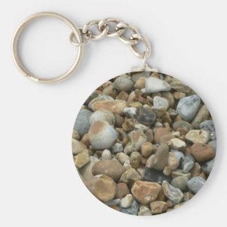 River Pebbles Key Ring