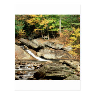 River Pikes Falls Windham County Vermont Postcard